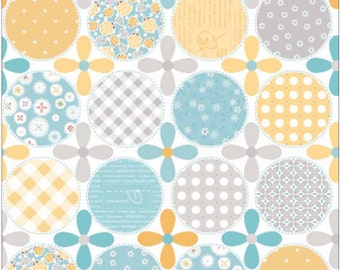 Polka Dot Stitches Blue Dot by Lori Holt of Bee in My Bonnet for Riley Blake DC3054