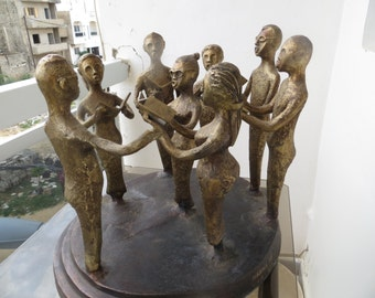 THE choir: Bronze Sculpture
