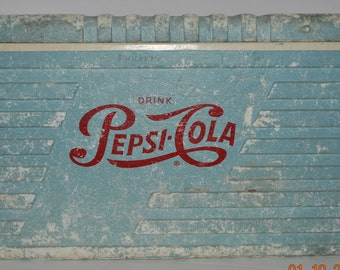 Extremely Rare Pepsi - Cola Styrofoam Cooler -