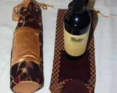 Two Reusable Wine Bags, W...