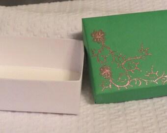 Small Gift Box, Jewelry Box, Small Box, Glittery Small Box, Small Gift Box Christmas
