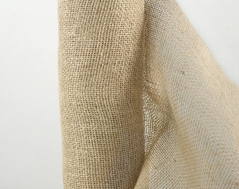 "Burlap Jute Roll  14"" Wide x 10 yards (30 foot)  Table Runner, Bows Etc."