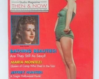 """Marilyn Monroe 1989 Magazine, """"Bathing Beauties"""", Hollywood Studio Then & Now"""