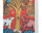Greeting Card: Tree of Life