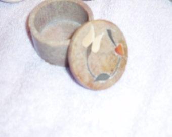 Soap Stone Trinket Box