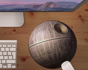 mouse pad,star wars,death star,darth vader,jedi knight,mousepads,personalized mouse pads,gifts under 20,christmas gifts,stocking stuffer