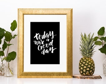 Ice Cube Today Was A Good Day Lyrics Print