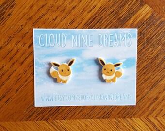 Pokemon Eevee Inspired Earrings