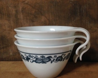 Corelle Old Town Blue Mugs - Set of 3