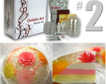 Gelatin Art Starter Kit #2 With Tools