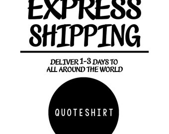 Express Shipping Fee (1-3 shirts)