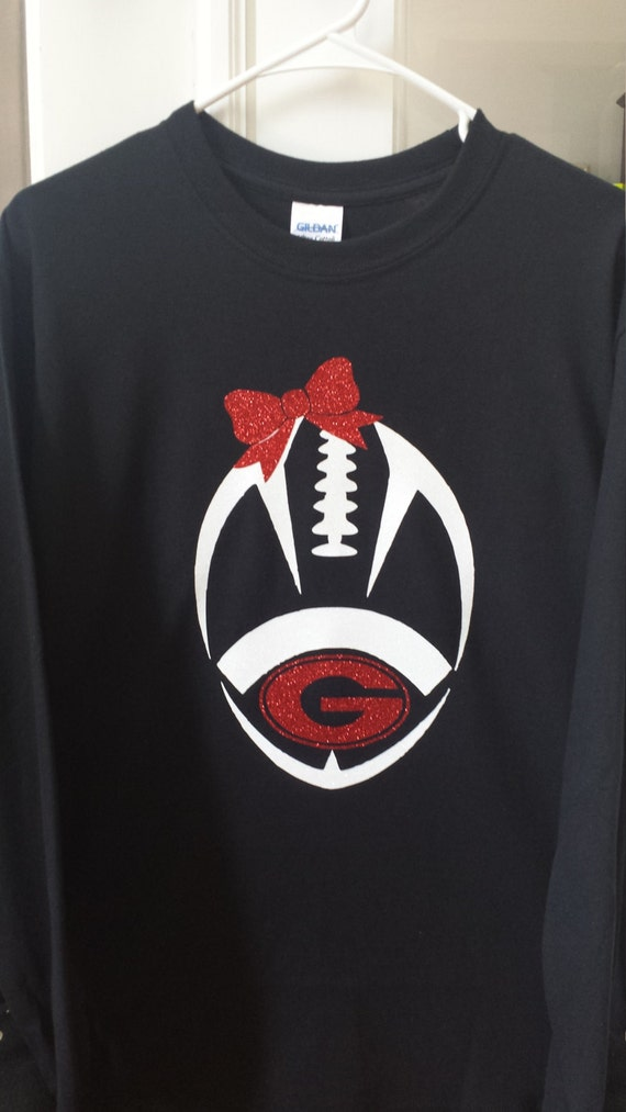 Girls georgia bulldog football shirt georgia football shirt for T shirt printing in georgia