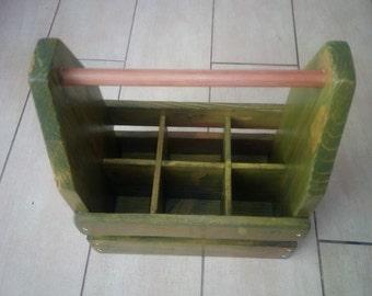 Portabottiglie in legno - Beer Tote - Wooden Beer Holder