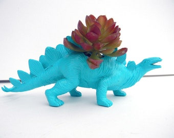 Dinosaur Planter Great for Succulents Great for Easter Baskets