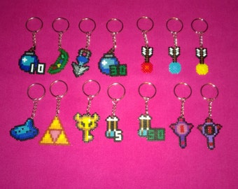 Legend of Zelda keyring