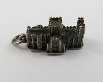 York Minster Church in the United Kingdom Sterling Silver Charm or Pendant.