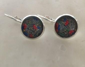 Delicate earrings Liberty 12mm