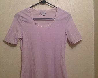 ESPRIT Ballerina Pale Pink Velvet Shirt