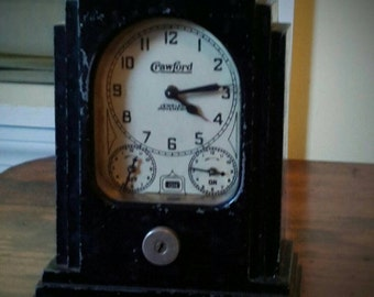 Antique Lux Stove Clock and Timer (SALE)