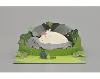 DIY Paper craft Kit / My Neighbor Totoro Studio Ghibli / Temple of Totoro