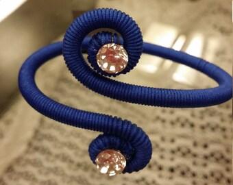 cobalt blue bracelet