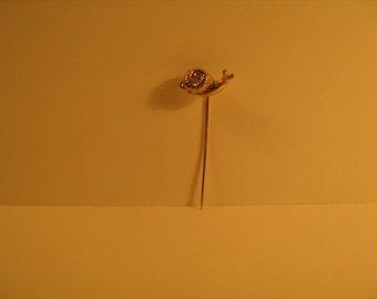 vintage snail badge