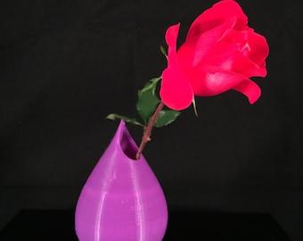Water Droplet Vase 3D Printed