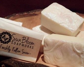 Freshly Fallen Snow Soap
