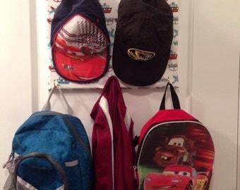 Boys Hat,bag,jacket, tie holder