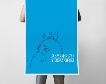 Studio Ghibli Art Print Poster - Multiple Sizes