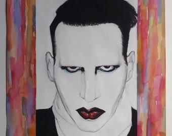 Marilyn Manson portrait