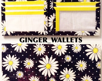 Daisies Duct Tape Bi-Fold Wallet