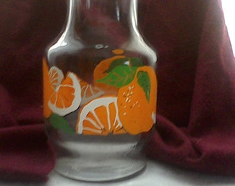 Glass Orange Juice Carafe