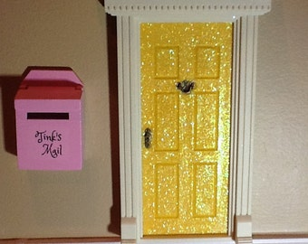 Little Fairy Mail box - customizable - a place for fairies to leave and receive mail- fairy door accessory