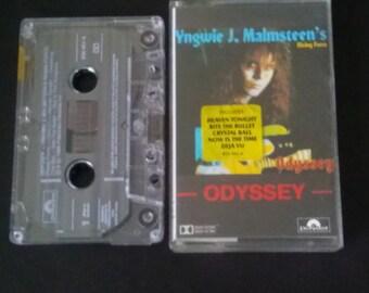 Yngwie J. Malmsteen's Rising Force- Odyssey- Cassette Tape (1988)