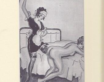 Erotic Print   classic pose