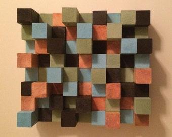 Wood Block Art