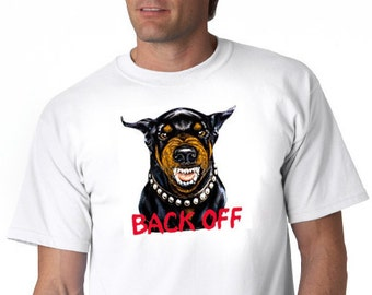 Back off. Bodyguard dog.