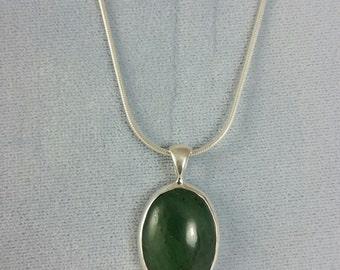 Alaska Jade Pendant