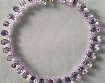 Diamond Cut Lavender Amethyst