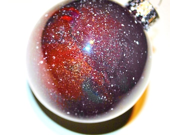 Hand-painted Galaxy Ornaments