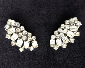 Vintage Weiss crystal earrings