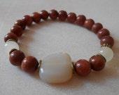 Aventurine bracelet 8mm, natural stone, energy bracelet, magic bracelet, bracelet Yoga,women's bracelet,onyx ,Bracelet Women, Gift For Girl