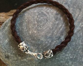Chestnut Brown Horse Hair Bracelet