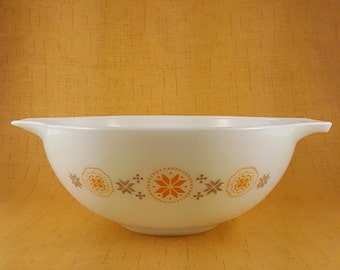 Vintage Pyrex Town and Country Cinderella Bowl 1960's Mad Men