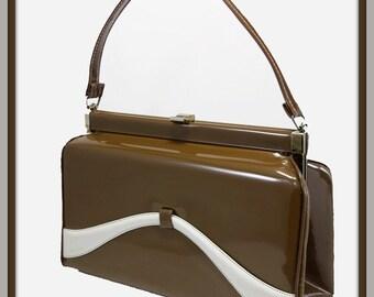 Vintage Vinyl Box Purse,Vintage Box Purse,Vintage Vinyl Handbag,Vintage Handbag,Vintage Vinyl Pocketbook,Vintage Pocketbook,Vintage Purse