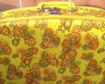 Vintage Floral Travel Bag ||| ON SALE NOW 50% Off