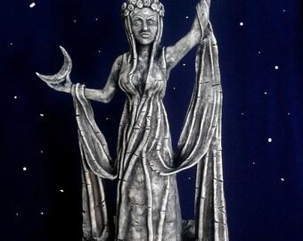 Shrine of Azura figurine from The Elder Scrolls Skyrim Oblivion Morrowind Daedra Daedric princess Azura figure Statue of Azura