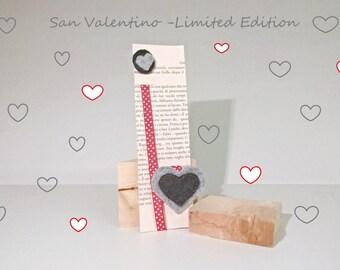 """segnalibro """"Il punto"""", bookmark """"Il punto"""" Valentine"""