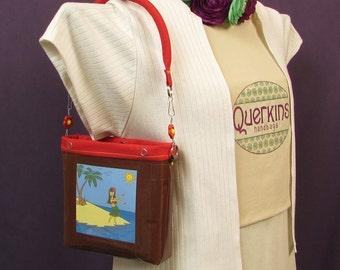 Hula crossbody purse